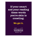 Your smart. poster