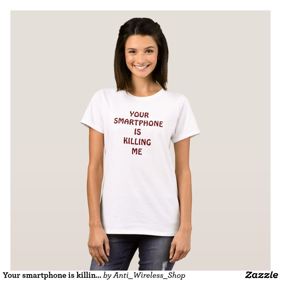 Your smartphone is killing me T-shirt - Best Selling Long-Sleeve Street Fashion Shirt Designs