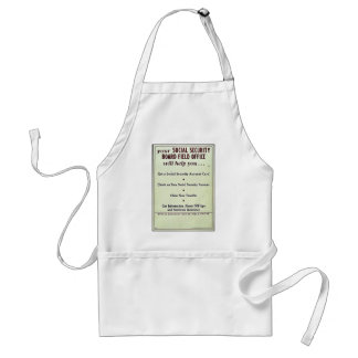 Your Social Security Board Field Office Apron