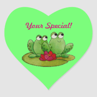 Your Special! Heart Sticker