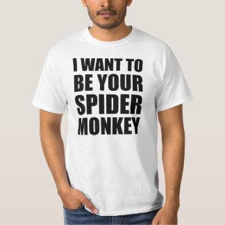Your Spider Monkey T Shirt