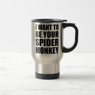 Your Spider Monkey Travel Mug