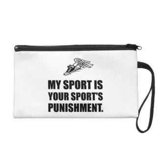 Your Sports Punishment Wristlet