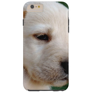 Your Square Photo Replaces Yellow Lab Tough iPhone 6 Plus Case
