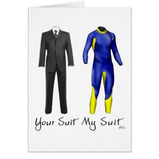 Your Suit My Suit Card