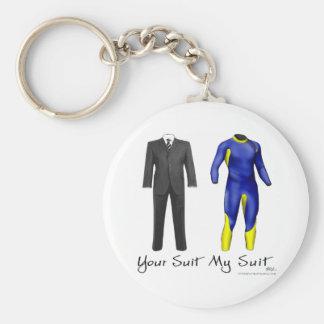 Your Suit My Suit Key Chain