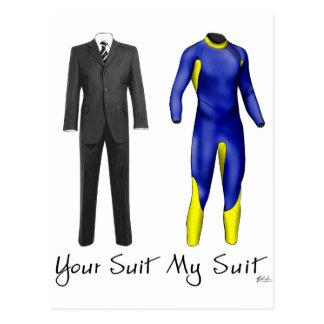 Your Suit My Suit Postcard