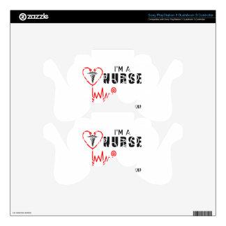 Your superpower nurse PS3 controller decals