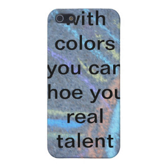 your talent cover for iPhone SE/5/5s