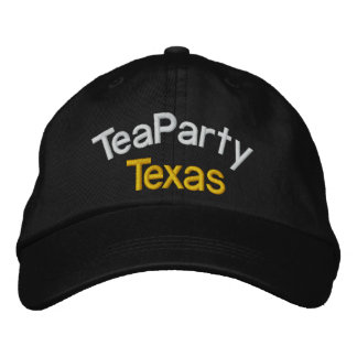 Your Tea Party-Taxed to the MAX- by SRF Embroidered Hat