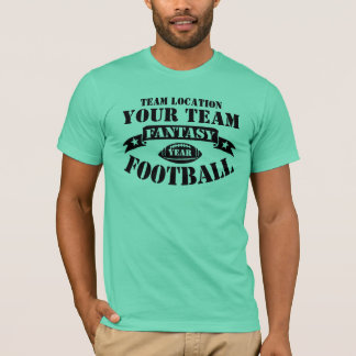 YOUR TEAM FANTASY FOOTBALL BY YEAR T-Shirt