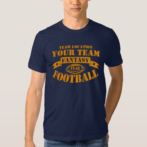 YOUR TEAM FANTASY FOOTBALL YEAR T-SHIRT