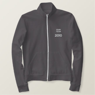 """""""Your Team Here"""" customize-able  Embroidery Embroidered Jacket"""