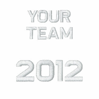 """""""Your Team Here"""" customize-able  Embroidery Track Jacket"""