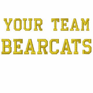 Your Team Name Bearcats Embroidered Tee Shirt