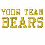 Your Team Name Bears Embroidered Polo Shirt