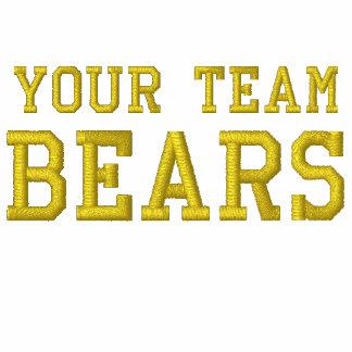Your Team Name Bears Embroidered Tee Shirt