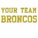 Your Team Name Broncos Embroidered Polo Shirt