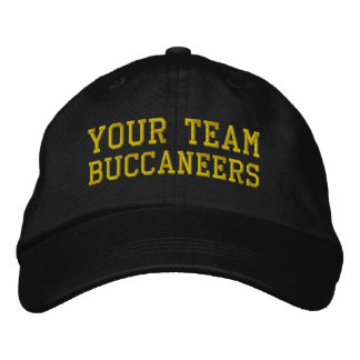 Your Team Name Buccaneers Embroidered Ball Cap Embroidered Hat