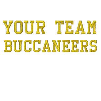 Your Team Name Buccaneers Embroidered Polo Shirt