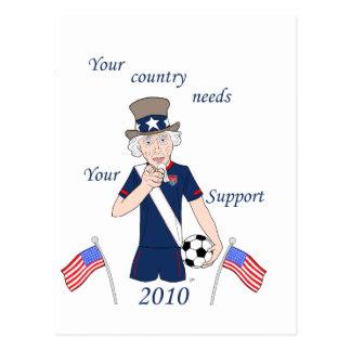 Your team needs you postcard