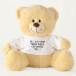 Hand shaped Your Teddy Bear :-)