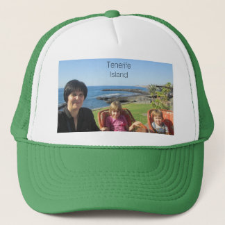 Your Tenerife Island Gift! Change Image Or Text Trucker Hat