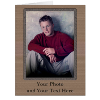 Your Text and Photo Personalized Greeting Cards