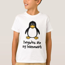 [Your Text] Funny Penguin T-shirt