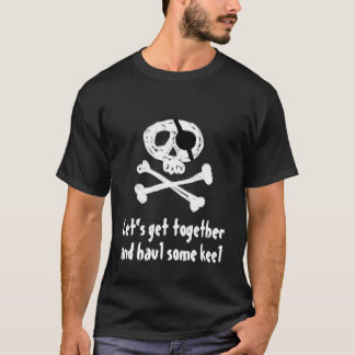 [Your Text] Funny Pirate T-Shirt