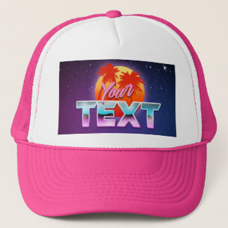 """Your Text"" Hat"