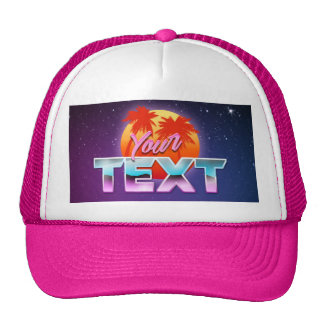 """""""Your Text"""" Hat"""