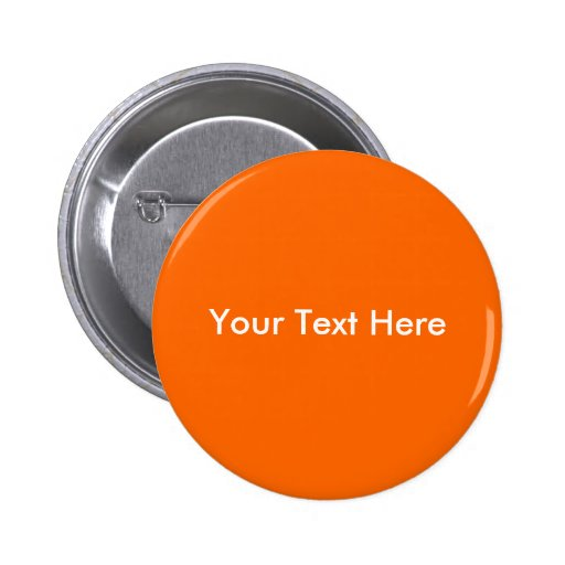 Your Text Here 2 Inch Round Button