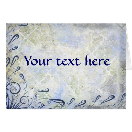 Your Text Here Card