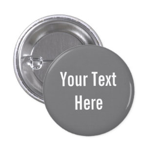 Your Text Here Custom Gray Background Button