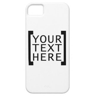your text here funny advertise humor joke computer iPhone 5/5S cases