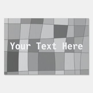 Your Text Here on Fun Mirror Checks Signs