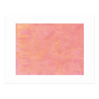 Your text here: Peach pink background Postcard