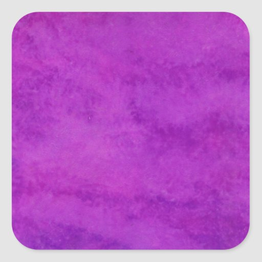 Your text here Purple Wash Background Square Stickers