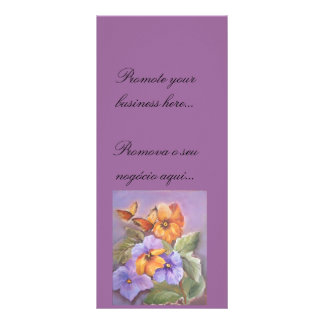 your text here personalized rack card