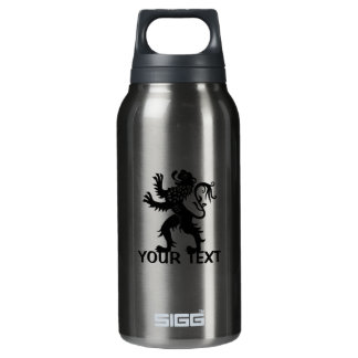 Your Text - Holland Lion Insulated Water Bottle