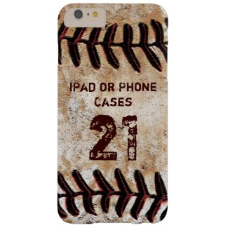 YOUR TEXT Jersey NUMBER Vintage Baseball iPad Case