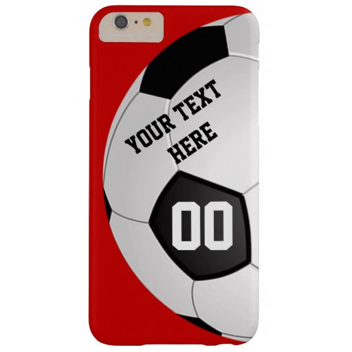 Your Text, Number and Colors SOCCER Phone Cases