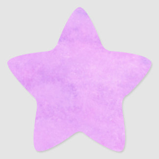 your text pink purple back ground star sticker
