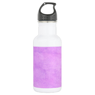 your text pink purple back ground water bottle