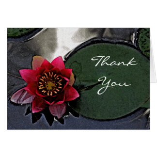 """YOUR THOUGHTFULNESS WAS SO APPRECIATED"" (LOTUS GREETING CARD"