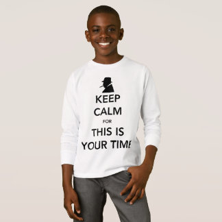 Your Time Boy's Long Sleeve T-Shirt
