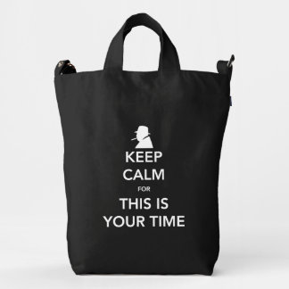 Your Time Canvas Bag
