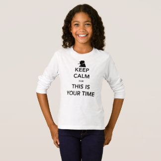 Your Time Girl's Long Sleeve T-Shirt