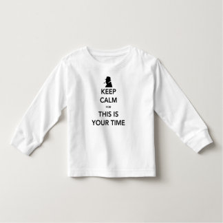 Your Time Toddler Long Sleeve T-Shirt